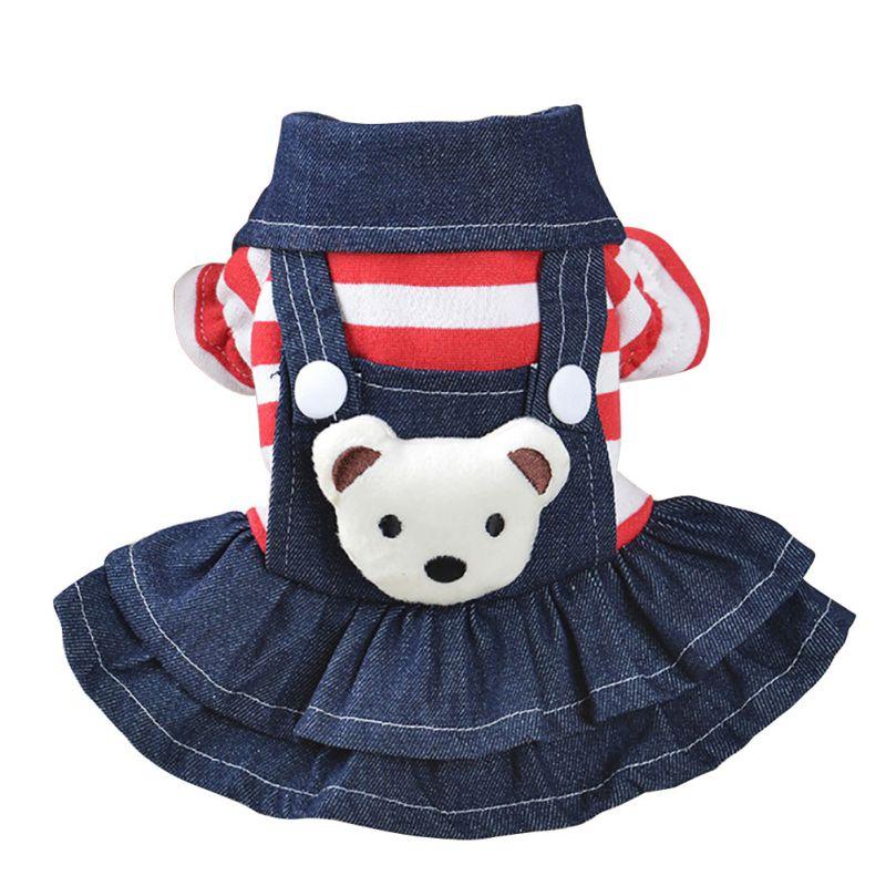 Джинсовое платье для собак