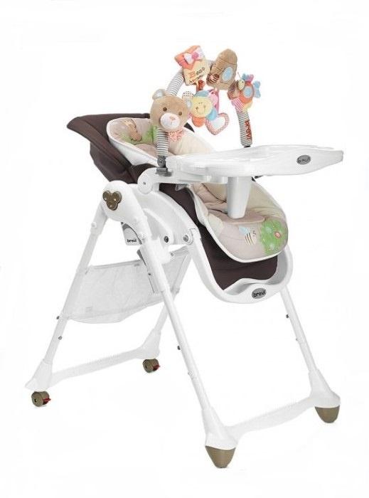 Стульчик для кормления Brevi B-Fun игрушки для новорожденных браслеты