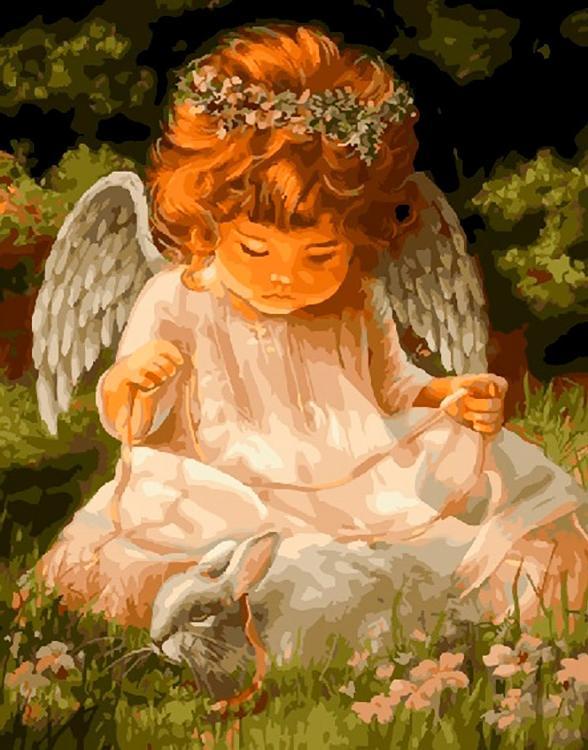 Открытки ангелочка
