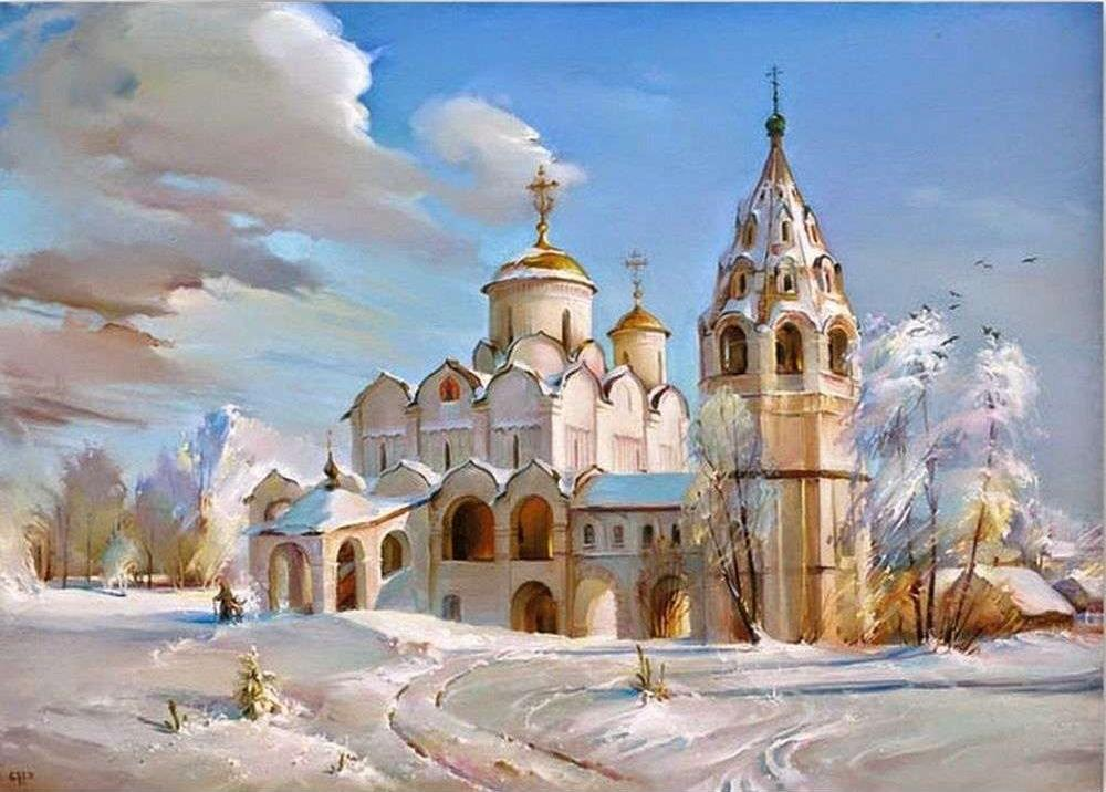 Храмы с открыток