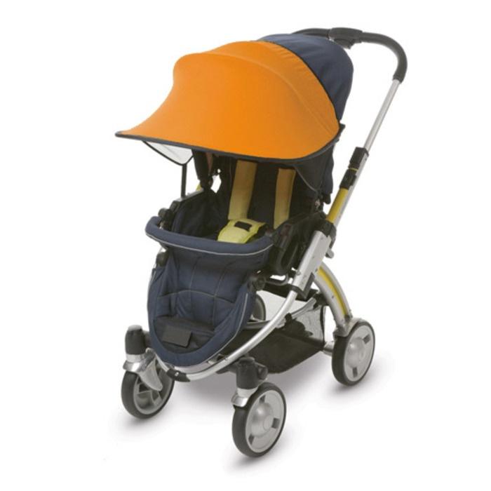 Фото - Козырёк от солнца Manito, для коляски и автокресла, цвет оранжевый козырёк ecco