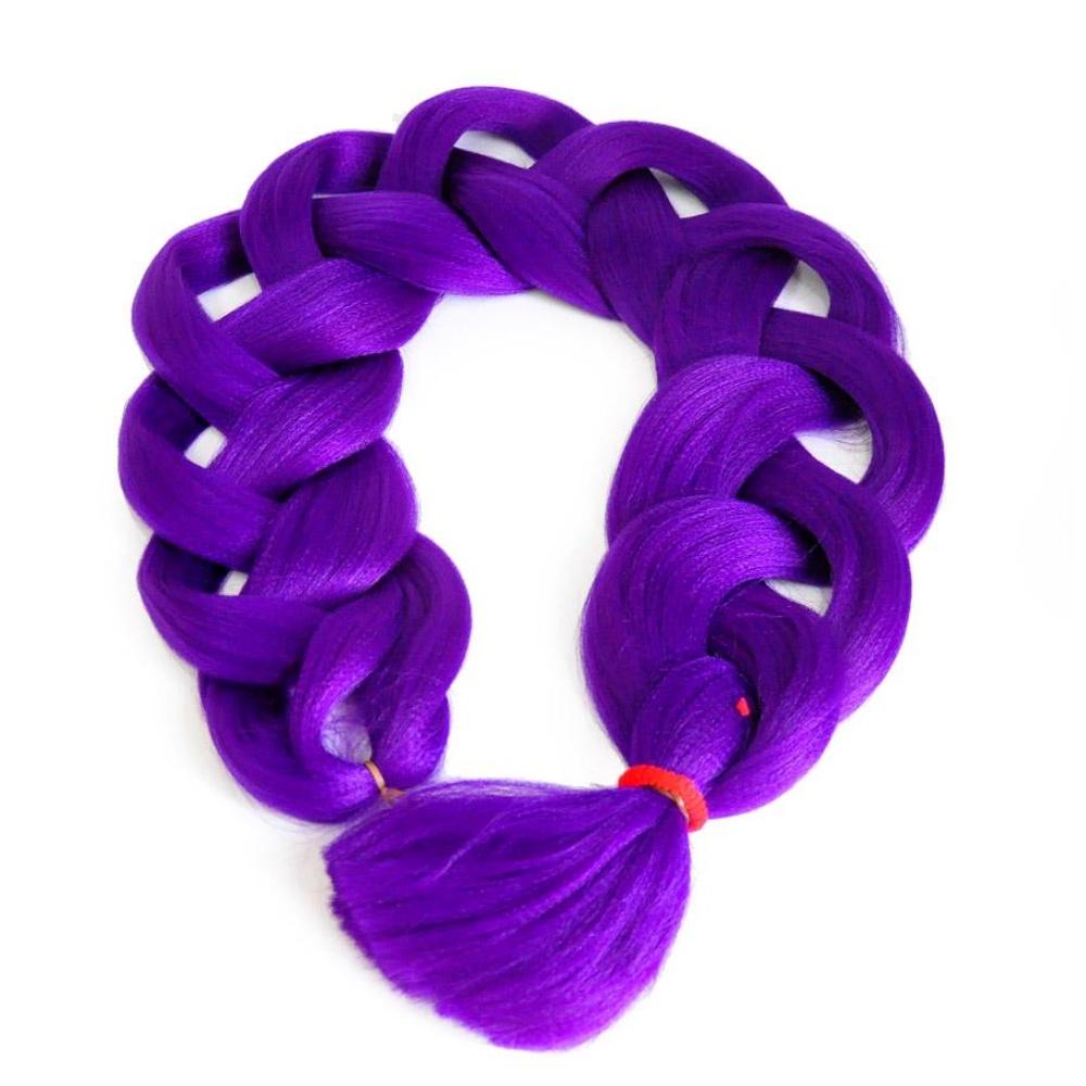 Канекалон II Purple (темно-фиолетовый) цена и фото