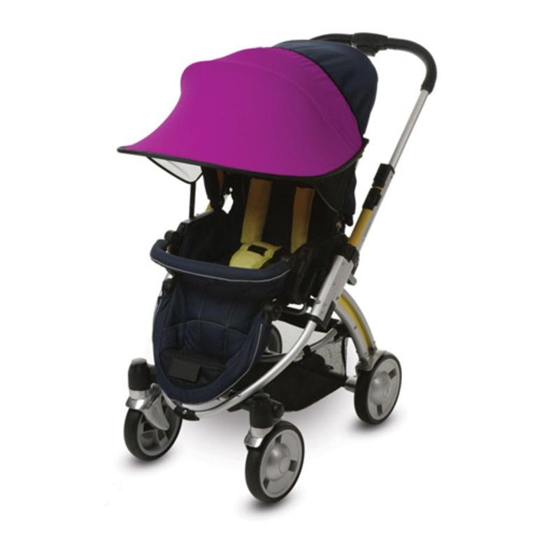 Фото - Козырёк от солнца Manito, для коляски и автокресла, цвет фиолетовый козырёк ecco