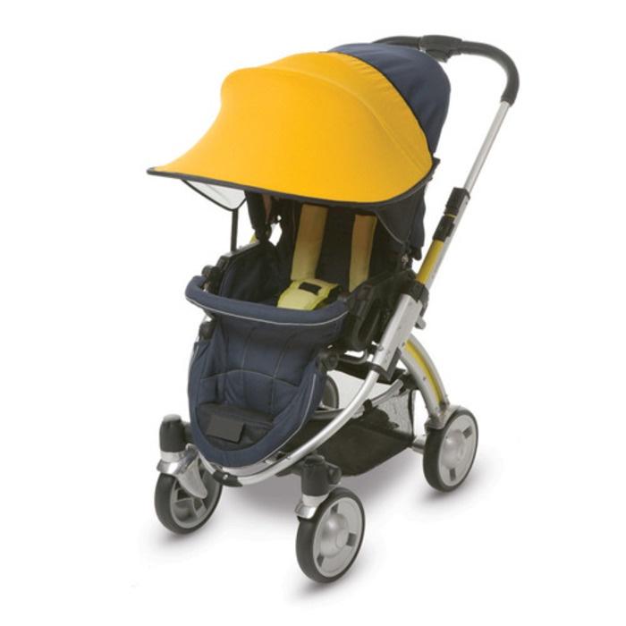 Фото - Козырёк от солнца Manito, для коляски и автокресла, цвет жёлтый козырёк ecco