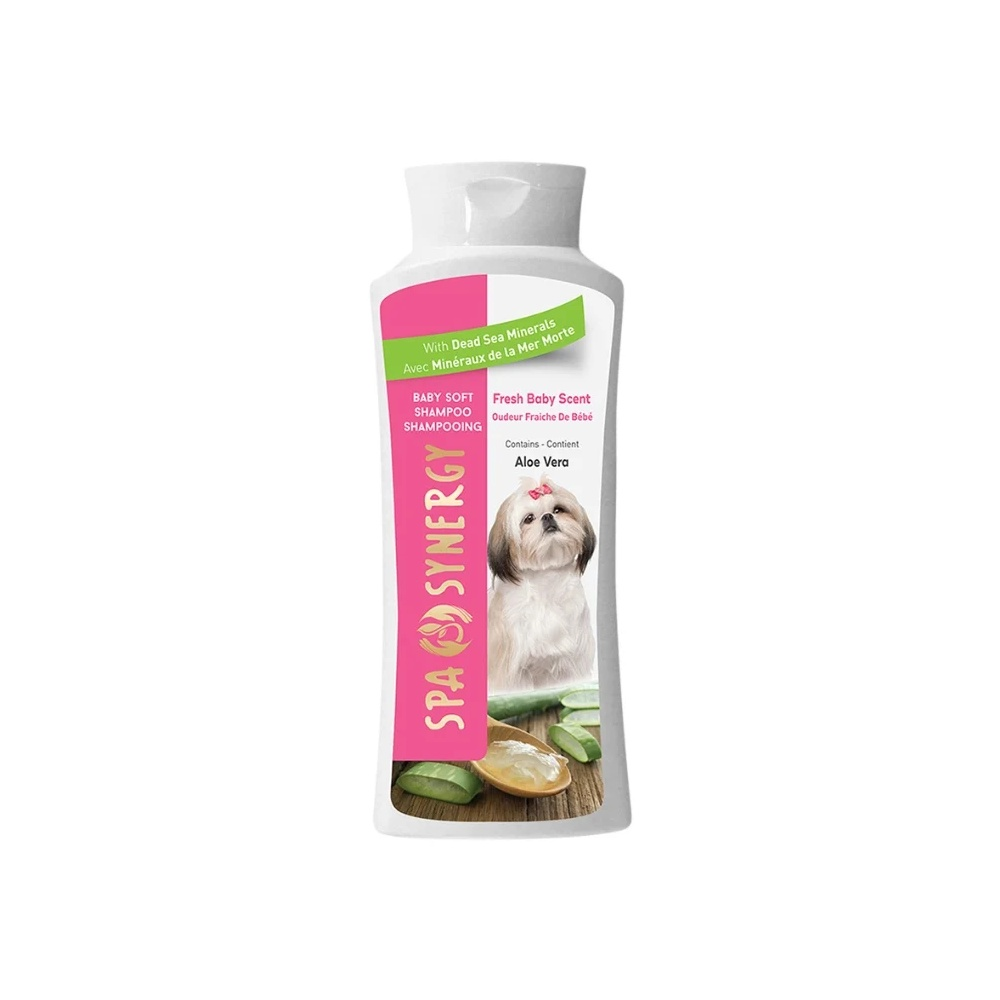 "Минеральный шампунь Spa Synergy для собак ""Чистый аромат младенца"" 500мл."