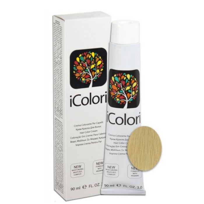 10 Крем-краска iColori KayPro блондин платиновый - 90 мл.