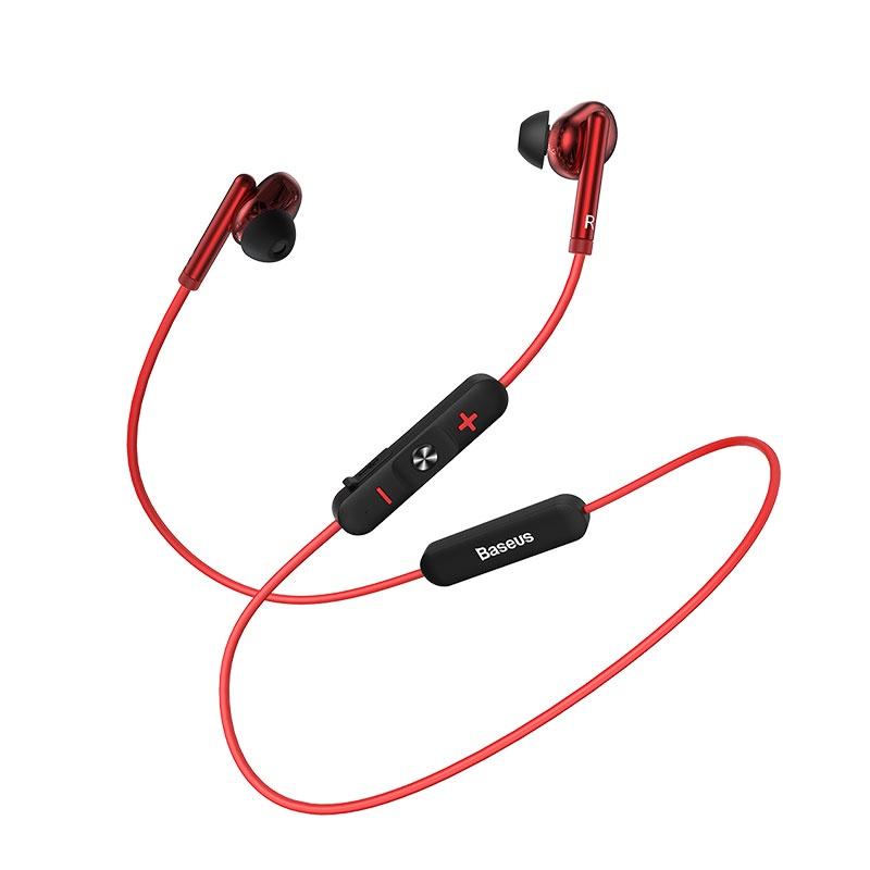 Беспроводные наушники Baseus Encok Wireless Earphone S30 Red