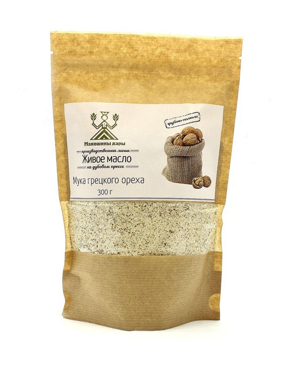 Мука грецкого ореха, Макошины дары 300 гр.