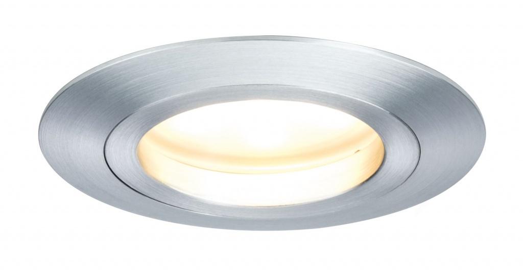 Встраиваемый светильник EBL Set Coin LED dim ru st 3x7W Alu-ged цена