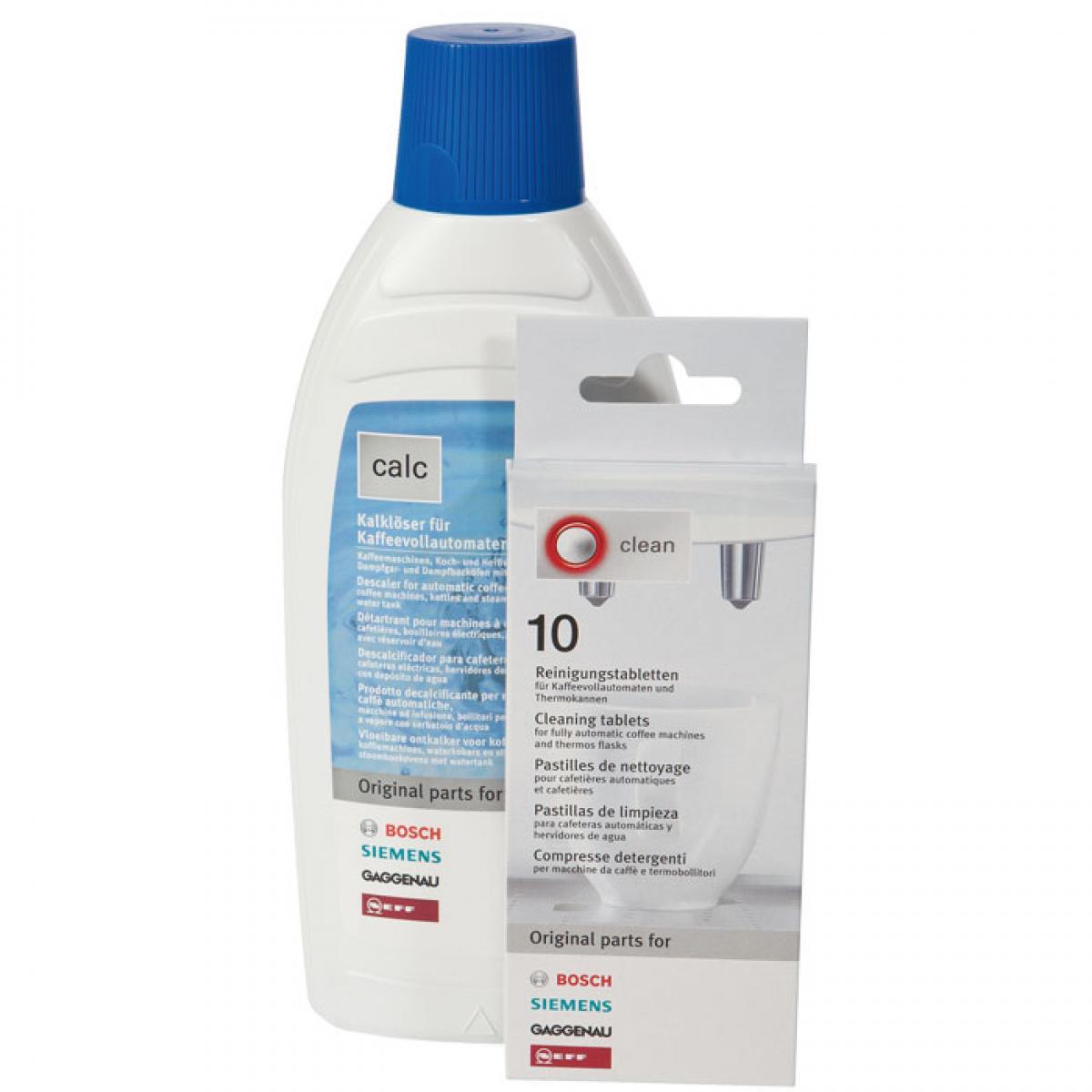 Набор средств для кофемашин Bosch 00311813 набор лент для ленточных шлифмашин bosch best for wood 75x533 мм 10 шт