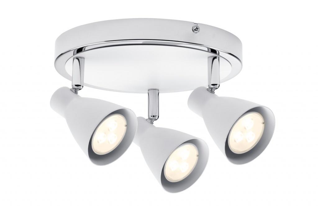 Светильник Спот 2Simple 3x3,5W GU10 белый/хром