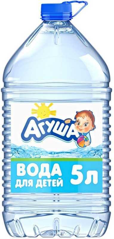 Вода Агуша для детей негазированная с 0 месяцев 5л