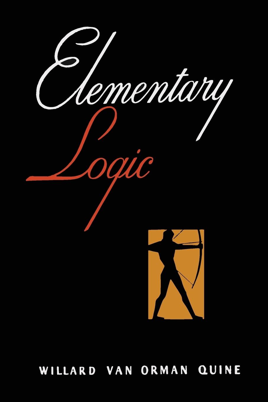 W. V. Quine Elementary Logic .First Edition. w v quine elementary logic first edition