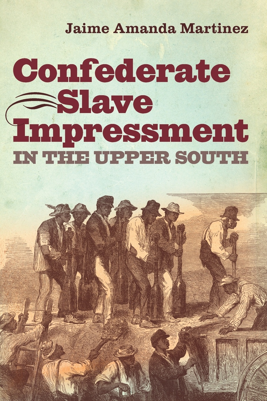 Jaime Amanda Martinez Confederate Slave Impressment in the Upper South
