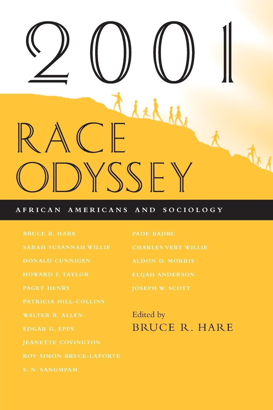 Bruce R Hare 2001 Race Odyssey. African Americans and Sociology the vintage book of african american poetry