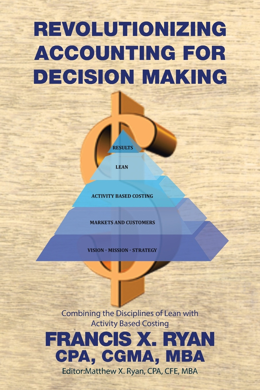 CPA CGMA MBA Francis X. Ryan Revolutionizing Accounting for Decision Making. Combining the Disciplines of Lean with Activity Based Costing activity based costing making it work for small and mid sized companies