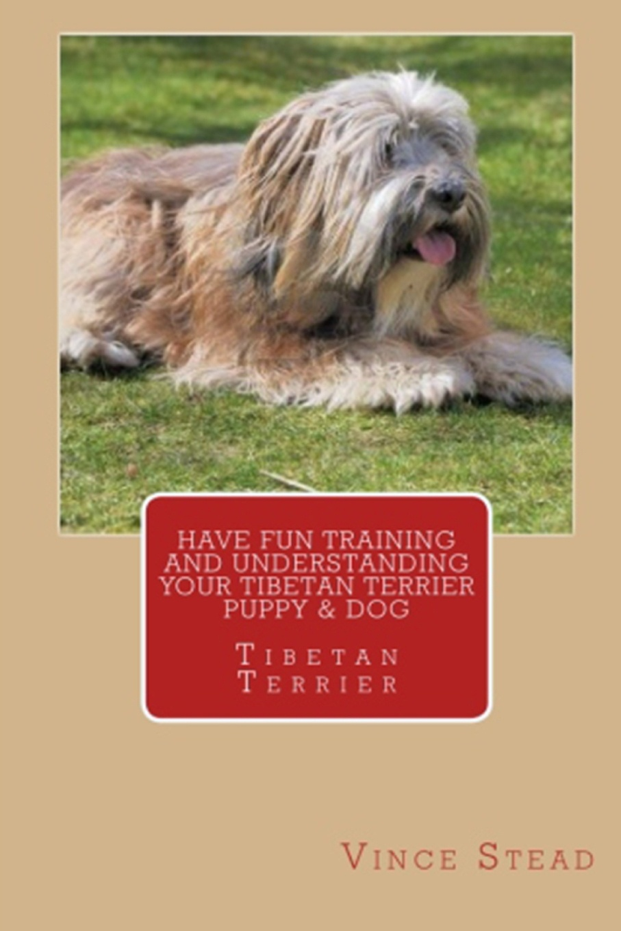 Vince Stead Have Fun Training and Understanding Your Tibetan Terrier Puppy & Dog