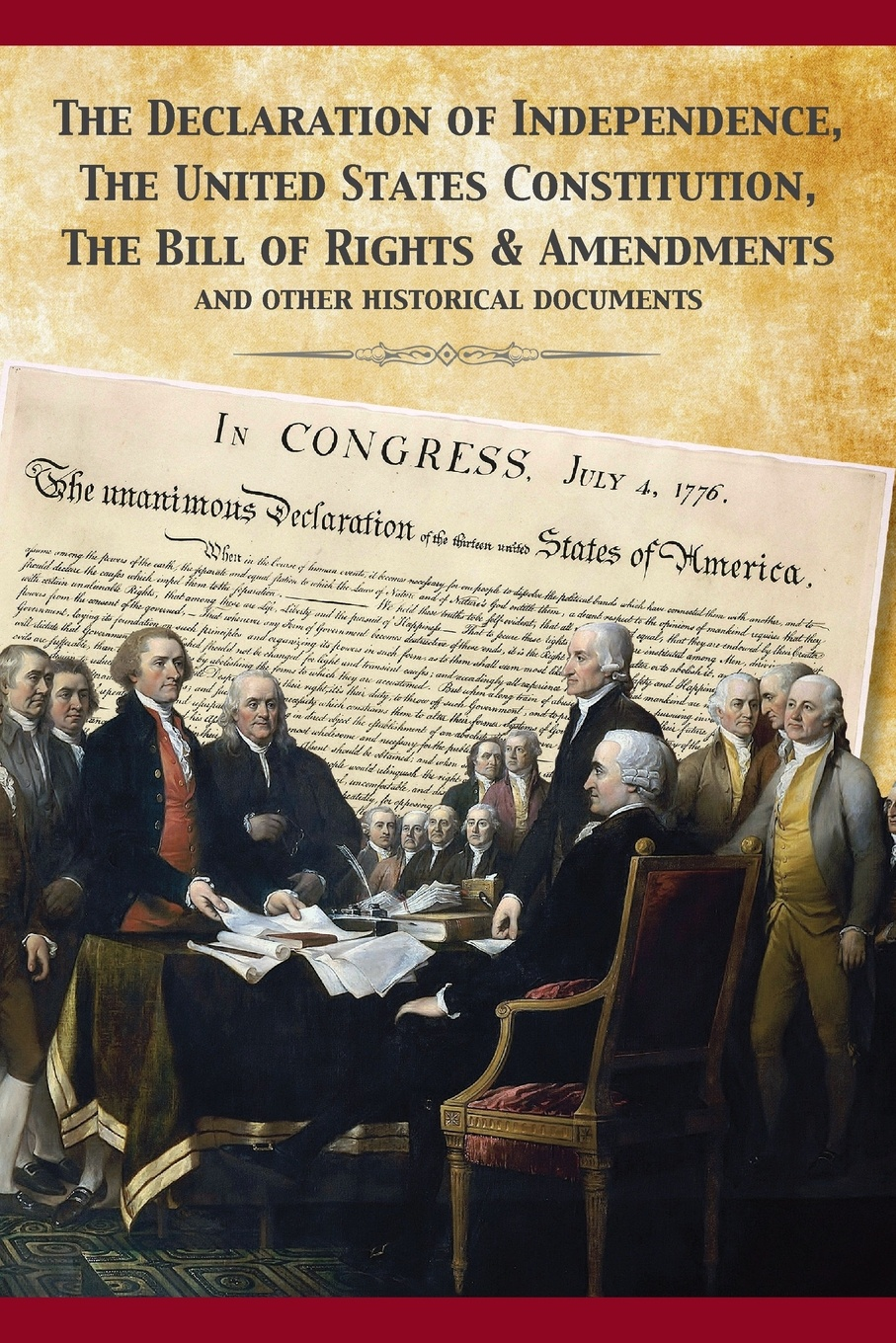 Фото - Founding Fathers The Constitution of the United States and The Declaration of Independence томас джефферсон the declaration of independence of the united states of america