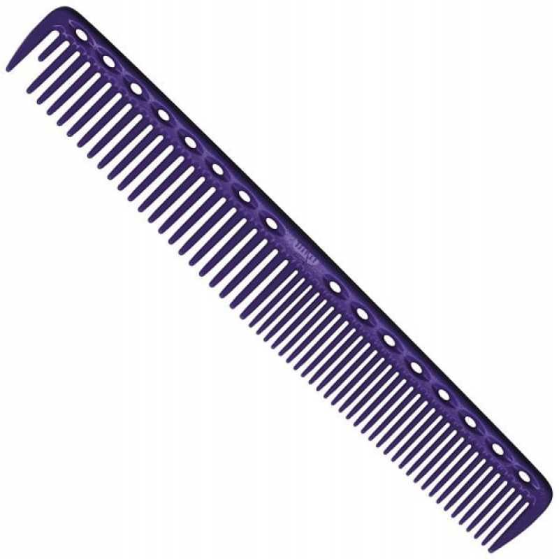 Расческа Y.S.PARK для стрижки фиолетовая 337 YS-337 deep purple