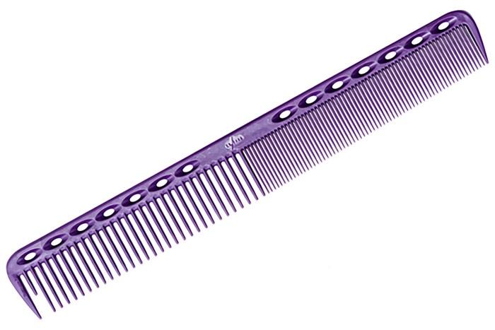 Расческа Y.S.Park для стрижки фиолетовая 339 YS-339 purple