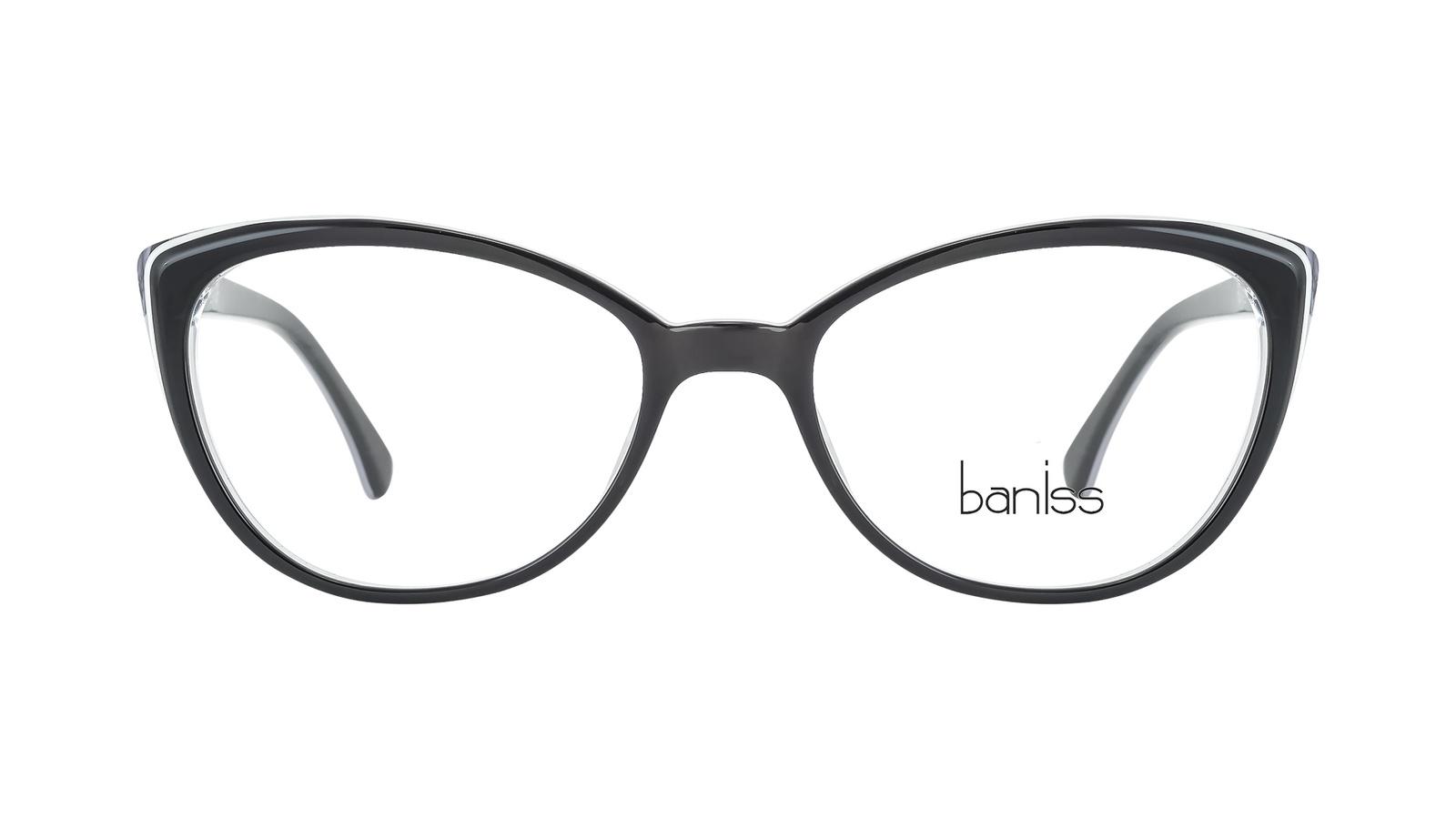 Оправа для очков, BANISS, пластик, BS7010 C01