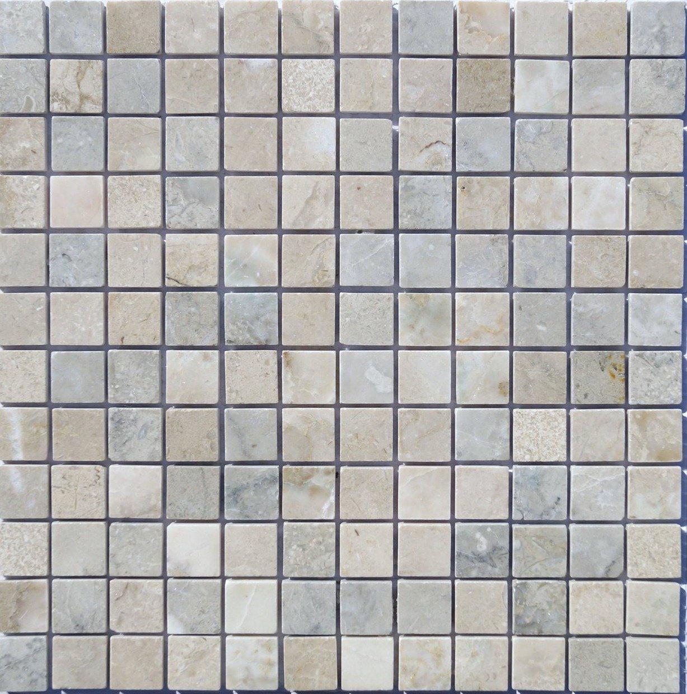 Мозаика из натурального камня Cappuccino grigio POL 23x23x7