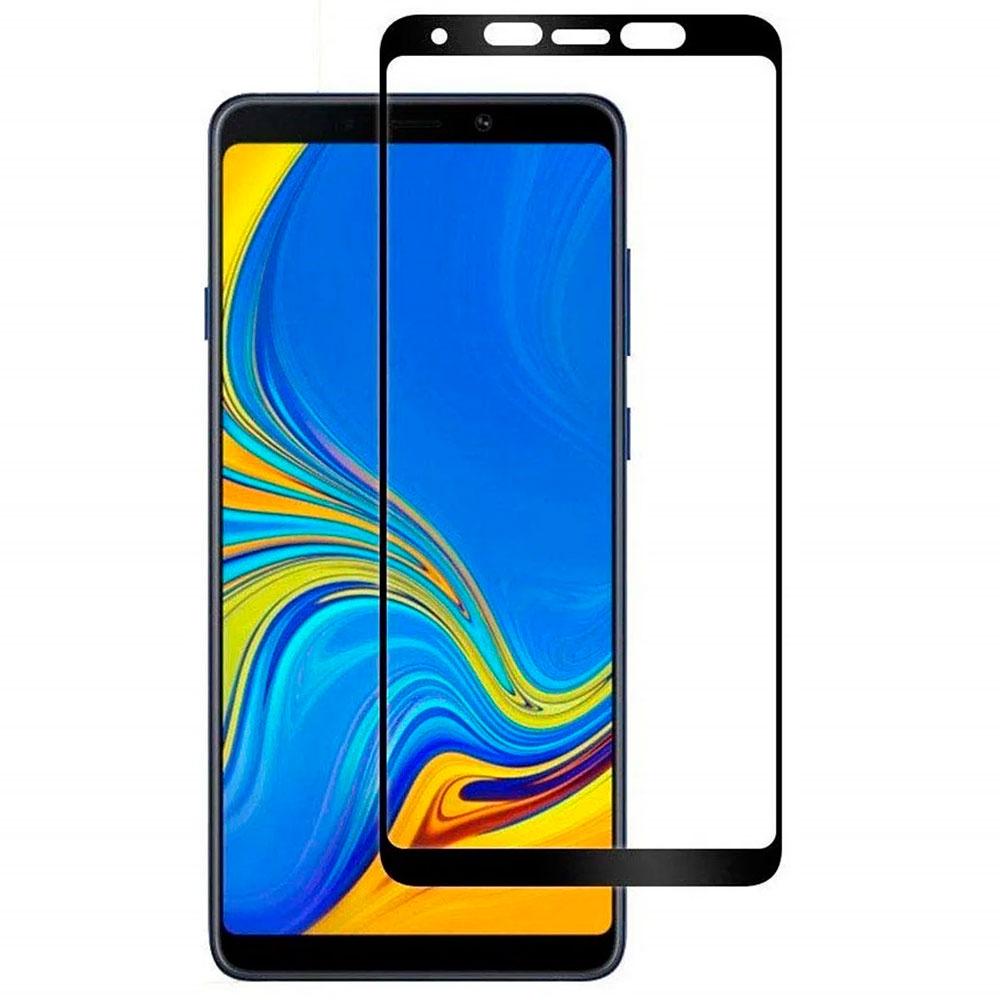 Защитное стекло Grand Full Glue для Samsung Galaxy A9 (2018), черный