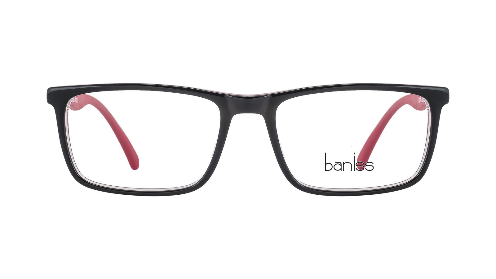 Оправа для очков, BANISS, пластик, BS8019 C01