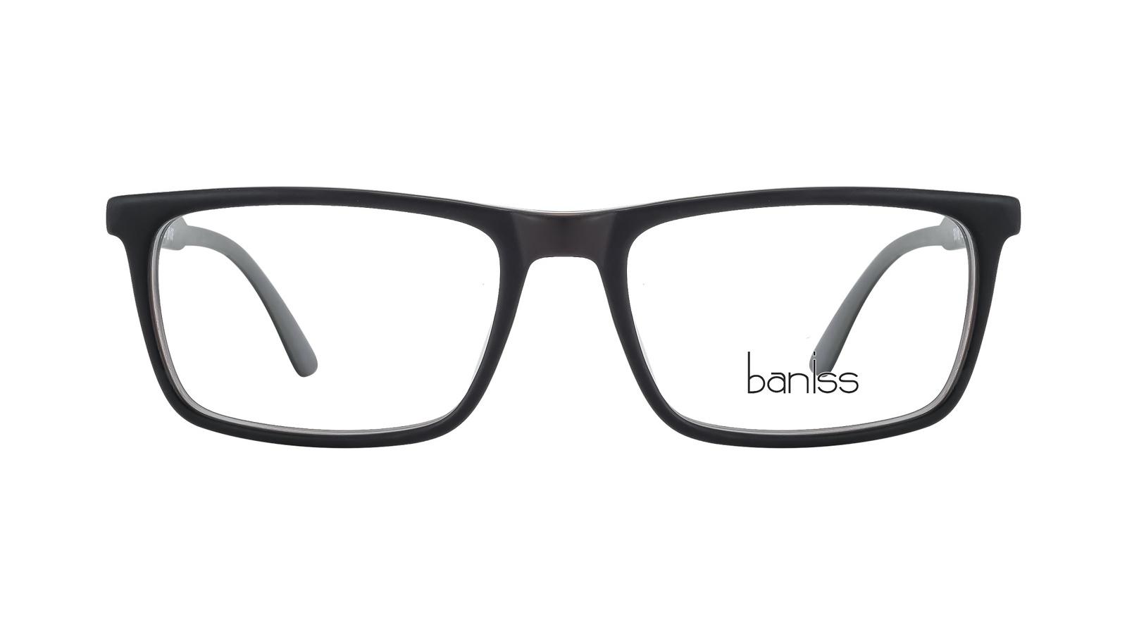 Оправа для очков, BANISS, пластик, BS8015 C01