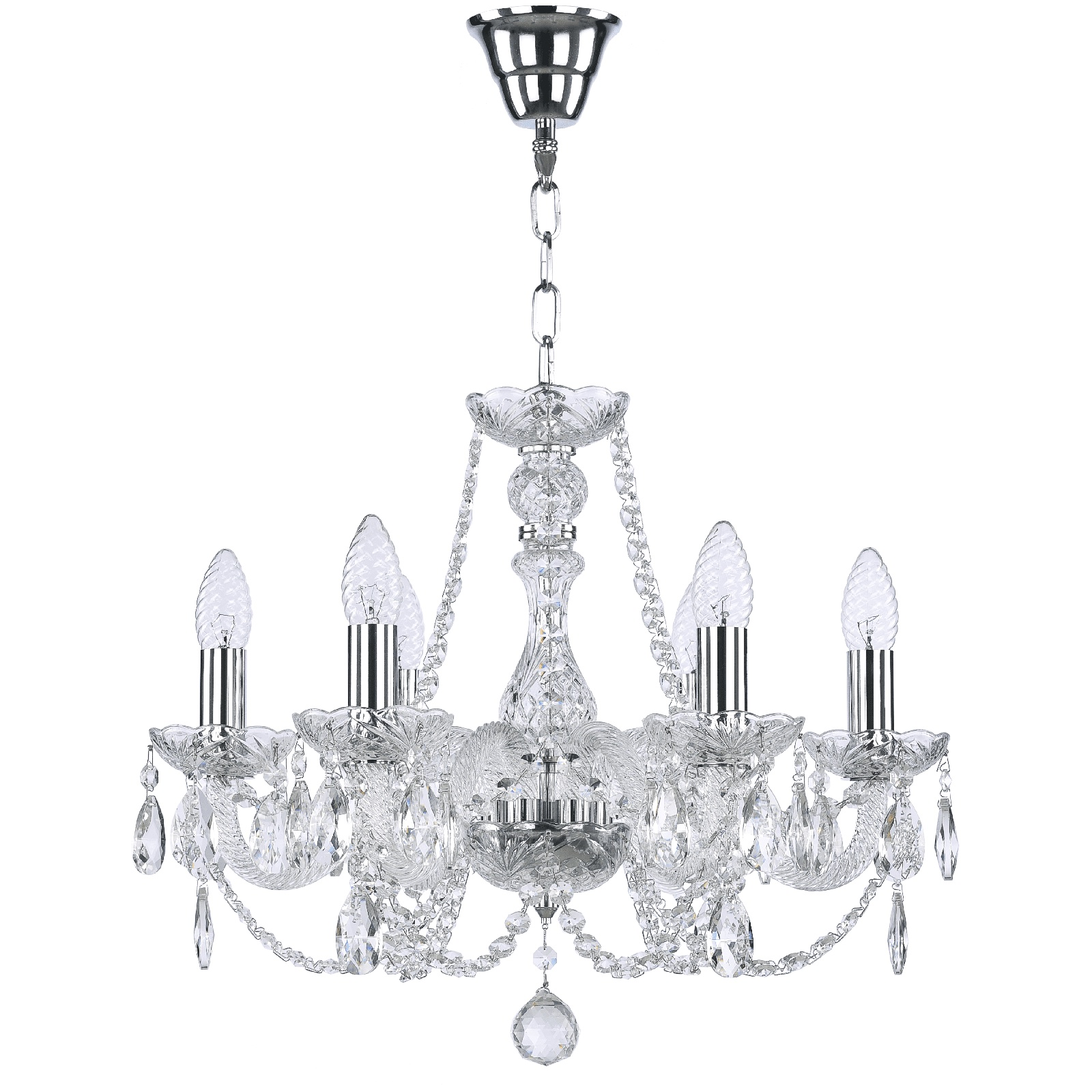 Потолочный светильник Bohemia Classic Light 101/6/165 NI, E14, 40W Вт