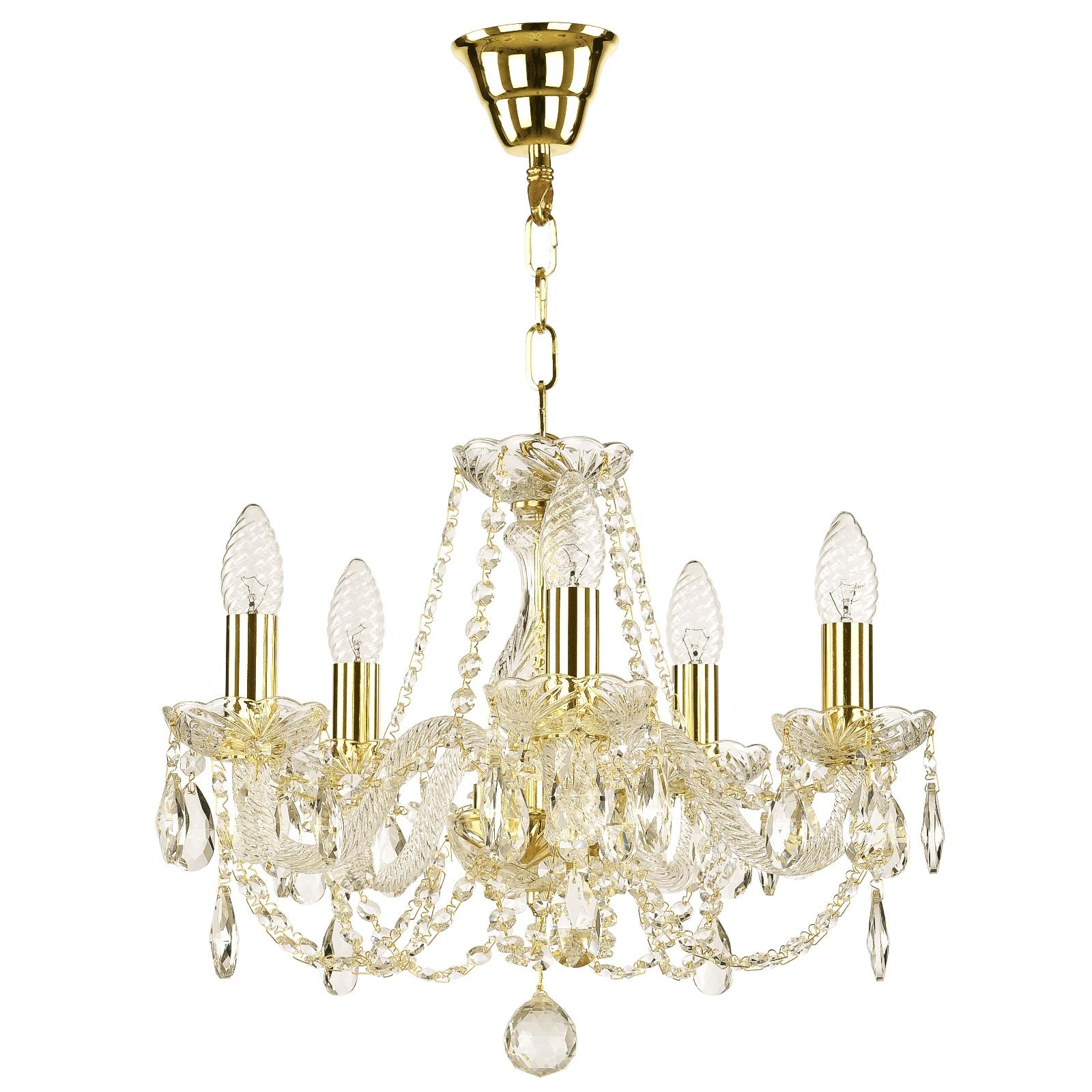 Потолочный светильник Bohemia Classic Light 101/5/141 G, E14, 40W Вт бра bohemia art classic 11 26 10 26 3 141 gd b