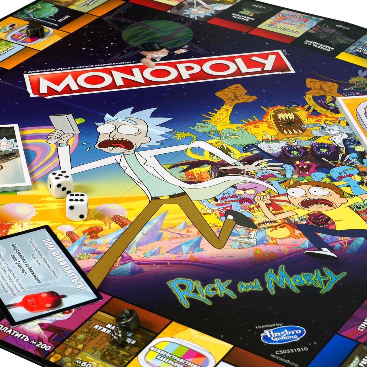 Настольная игра Монополия Рик и Морти Hobby World