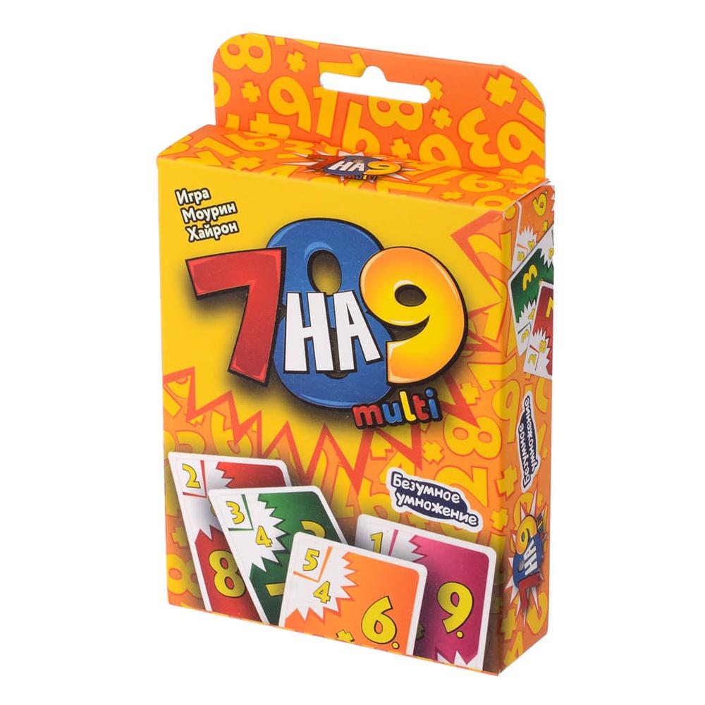 Настольная игра 7 на 9 multi