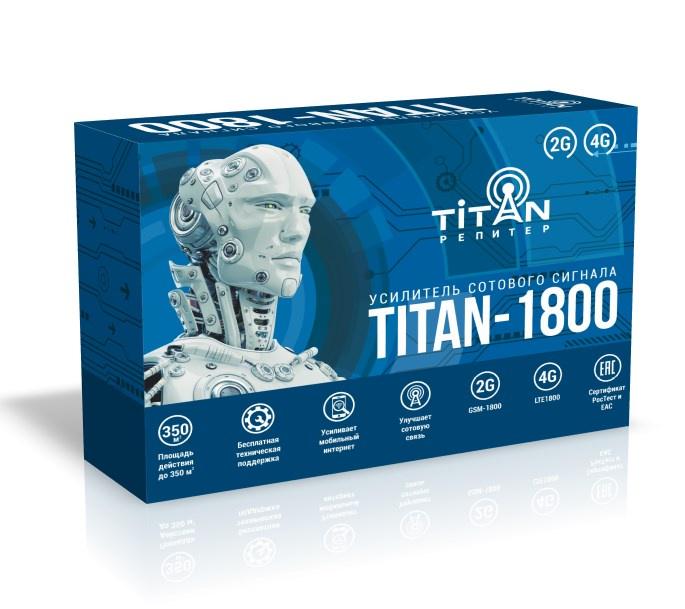 Усилитель сигнала сотовой связи (репитер) Titan-1800