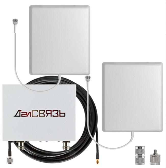 Комплект усиления GSM Далсвязь DS-1800/2100-10С3