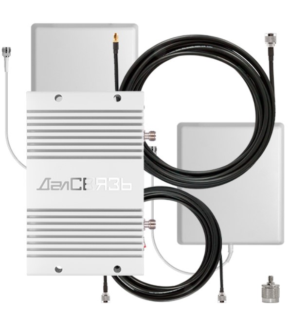 Усилитель сигнала сотовой связи и интернета ДалCвязь DS-900/2100-23 C3
