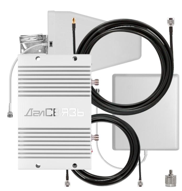 Усилитель сигнала сотовой связи и интернета ДалCвязь DS-900/2100-23 C2