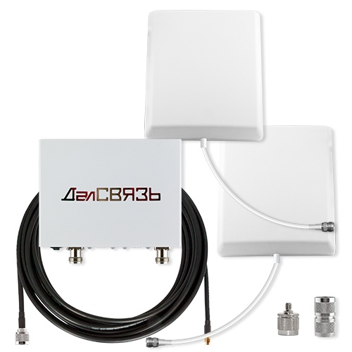 Усилитель сигнала сотовой связи и интернета ДалCвязь DS-900/2100-17 C3