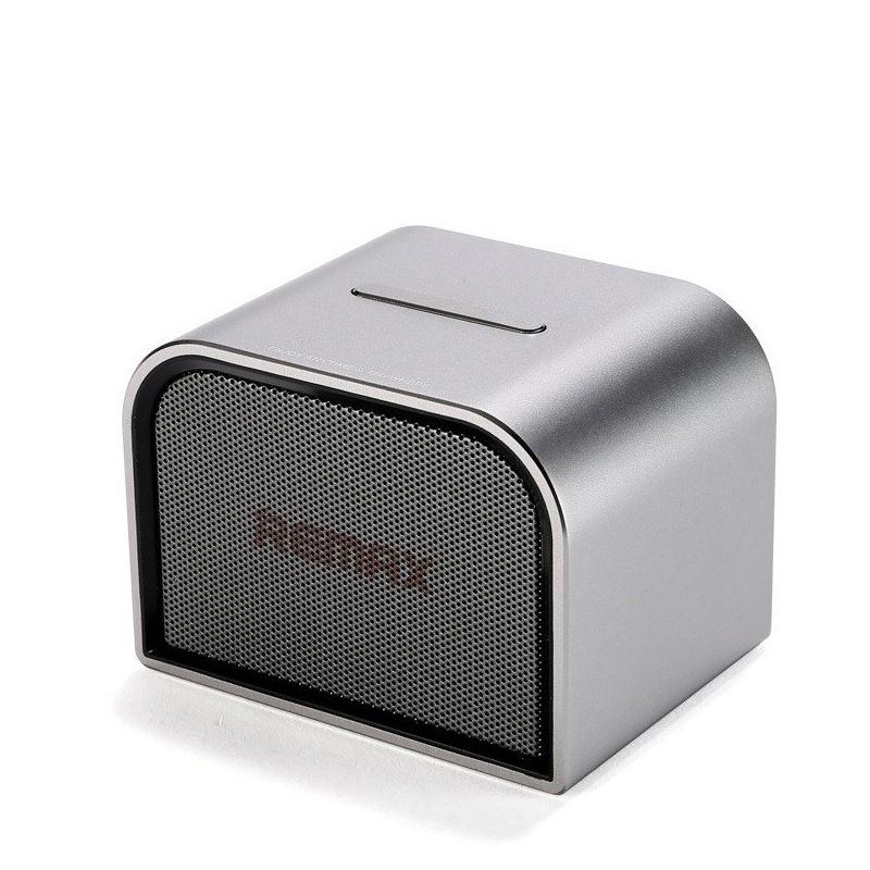 Колонка Bluetooth Remax RB-M8 Mini серебро колонка remax m8 mini silver