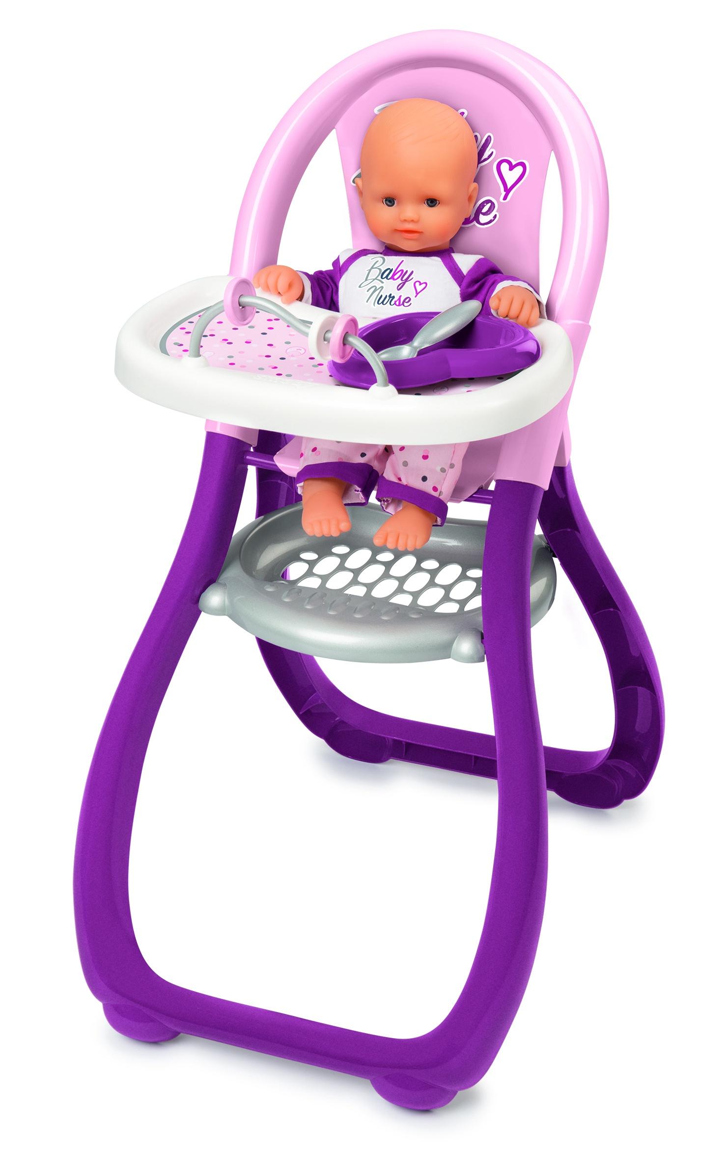 Baby Nurse Стульчик для кормления пупса, 33х46х65 см