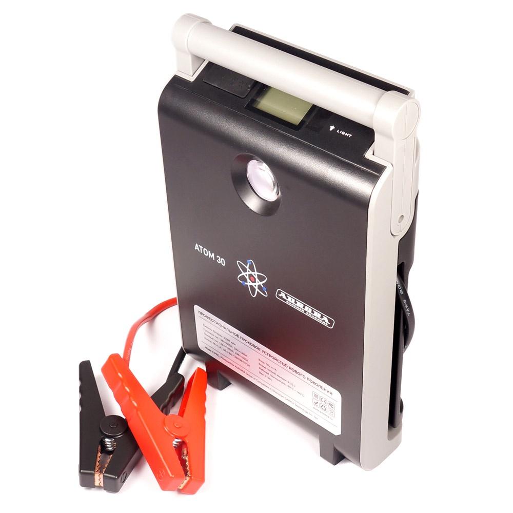 Профессиональное пусковое устройство AURORA ATOM 30 30000 мА/ч (12/24В)