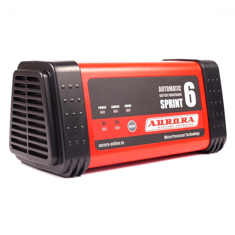 Интеллектуальное зарядное сетевое устройство AURORA SPRINT 6 (6/12В)