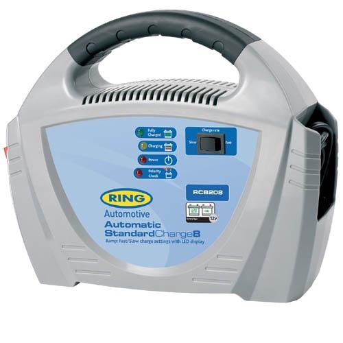 цена на Автоматическое зарядное устройство Ring Automotive RECB208 (12В, 8А)