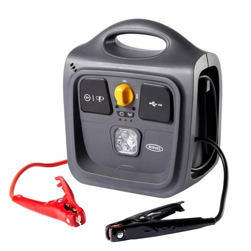 Пусковое устройство и источник питания Ring Automotive REPP148 9AH POWERPACK (фонарь, USB) пусковое устройство и источник питания ring automotive repp148 9ah powerpack фонарь usb