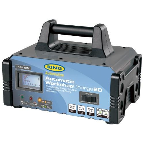 цена на Пуско-зарядное устройство сетевое Ring Automotive RECB320 (12В, 20А)