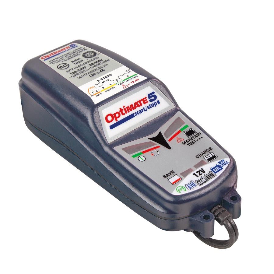 Зарядное устройство OptiMate 5 Start-Stop TM220 устройство optimate 5 tm220