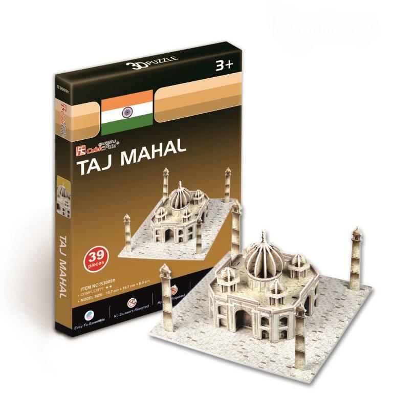 Игрушка Тадж Махал (Индия) (CubicFun S3009) сборная деревянная модель тадж махал