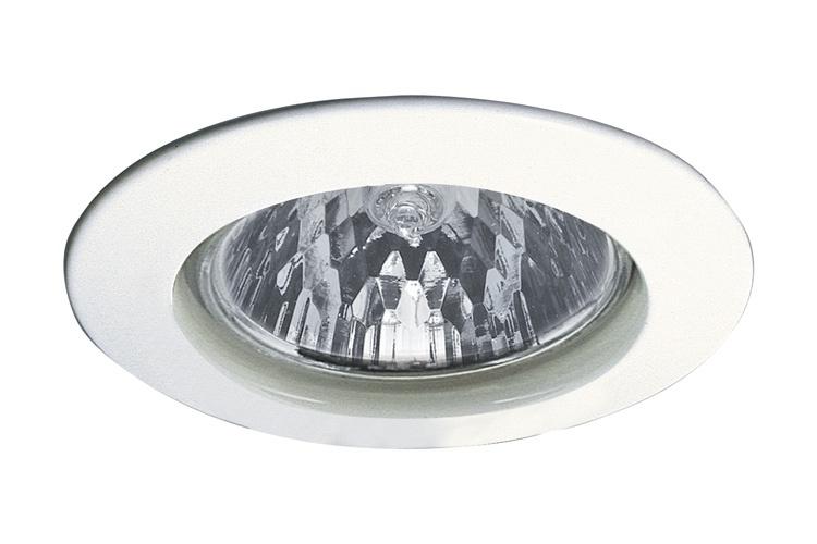 Светильник встраиваемый Цинк, белый, 51мм, 50W rexant переносной светильник 10м 1189