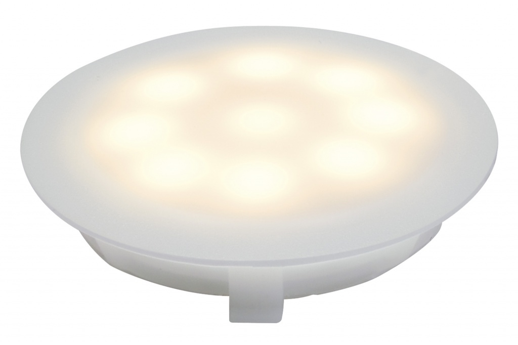 Светильник EBL UpDownlight LED 3000K 1W Sat люстра citilux el330c90 1 led 1w 3000k 4500k 8008642480787
