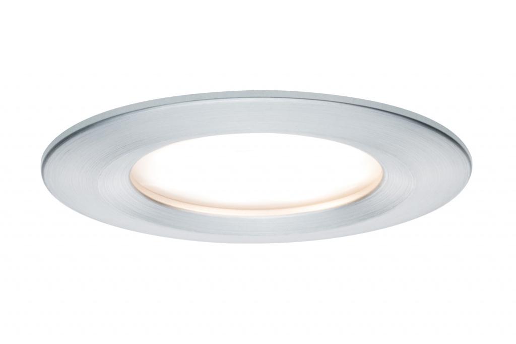Светильник встраиваемый Coin Slim IP44 LED 1x6,8W Alu цена